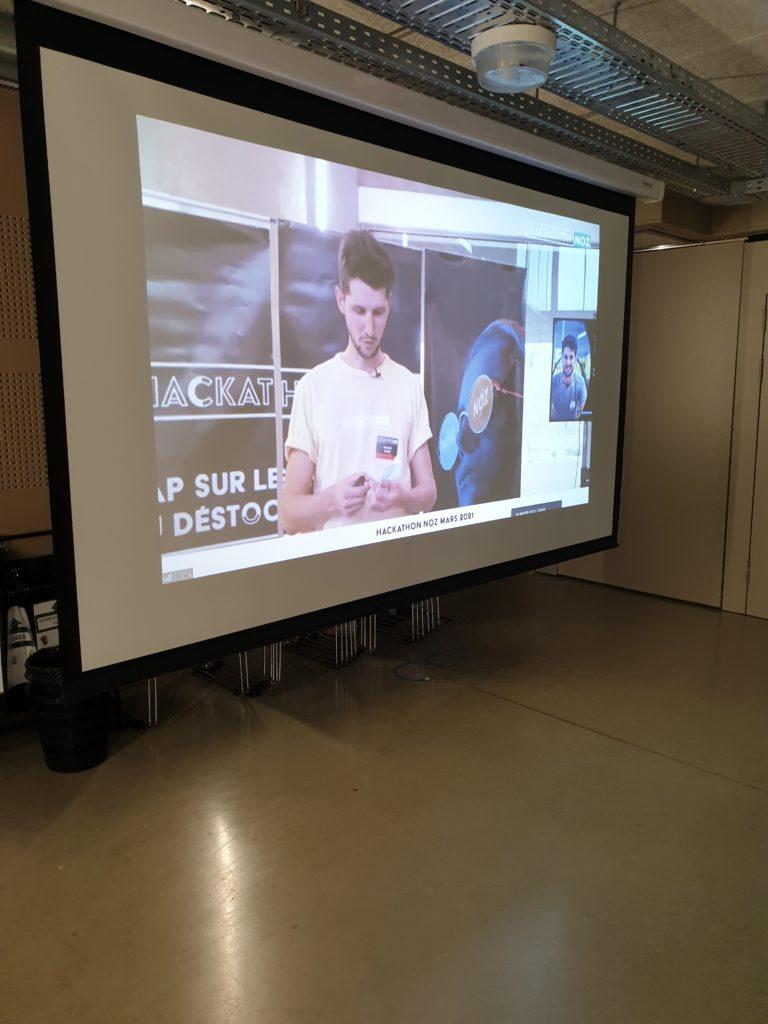François, What The Hack, Hackathon hybride NOZ