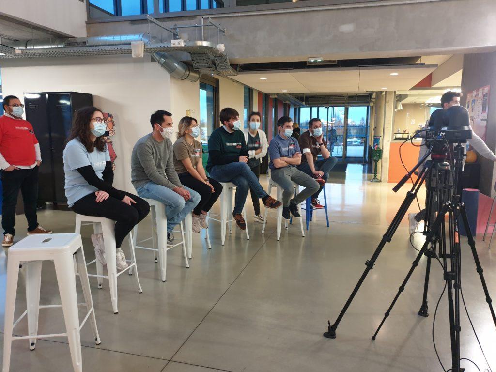 Photo d'équipe- Hackathon NOZ