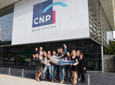 La team organisation du #HackathonCNP